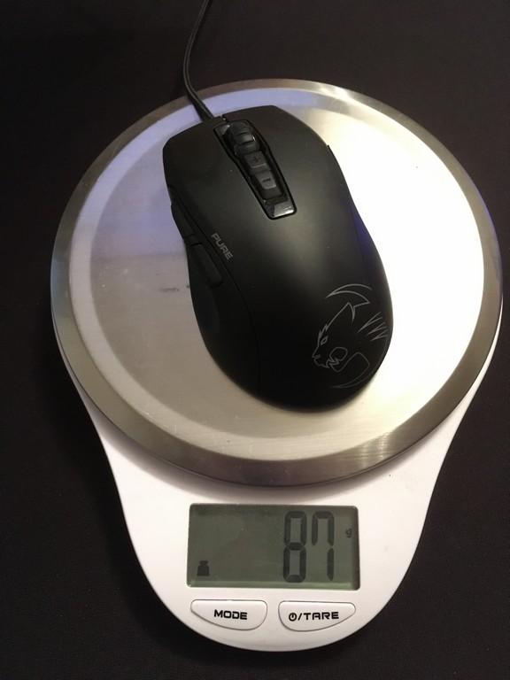 Roccat Kone Pure Owl-Eye Review - Shape & Weight   TechPowerUp