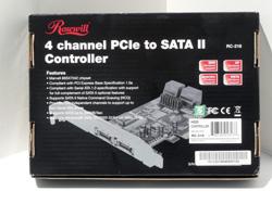 Rosewill RC-218 PCI-E SATA II Card Marvell RAID 64Bit
