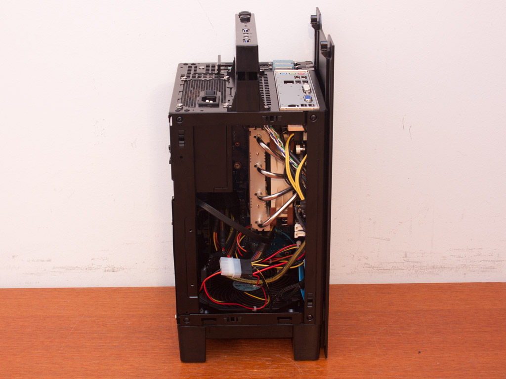 Silverstone Fortress Ft03 Mini Review Techpowerup