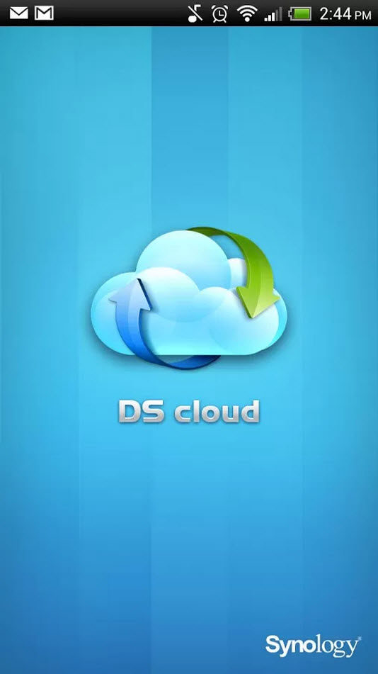 how to set up ds cloud