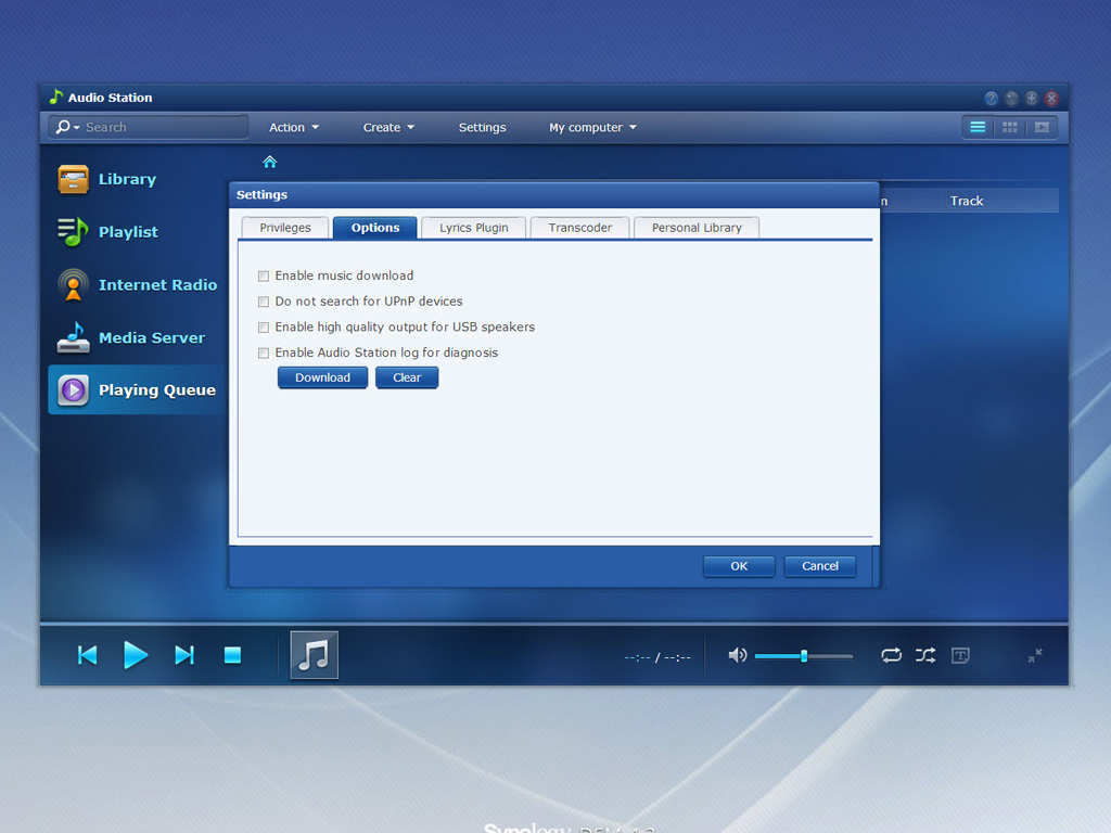On the Synology DiskStation with Audio Station and onward, 3rd-party developers are allowed to Synology Audio Station Lyrics Module Development Guide.