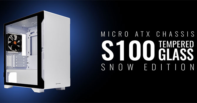 Thermaltake S100 TG Review – Compact Steel in White or Black