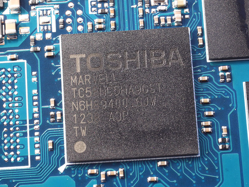 Тест SSD Toshiba THNSNH256-GCST 256ГБ