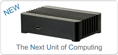 SilverStone shows off prototype of NUC case