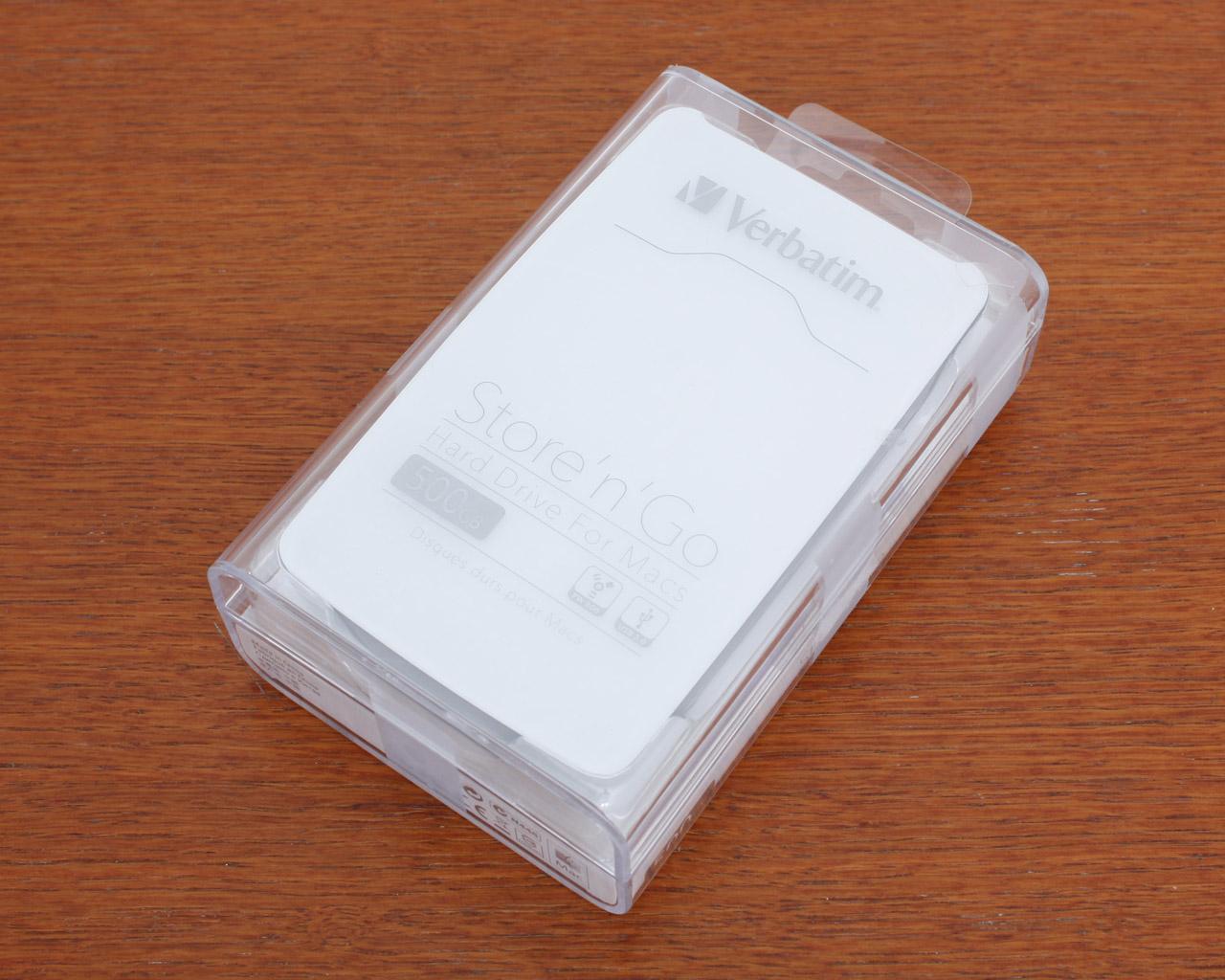 Verbatim store 39 n 39 go for mac 500 gb usb 3 0 fw 800 review for Mac due the box