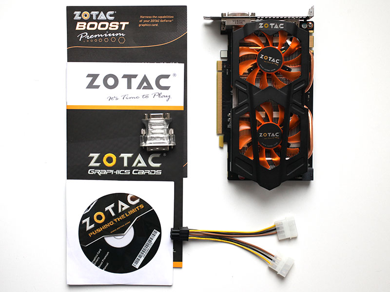 Обзор и тест Zotac GeForce GTX 650 Ti Boost