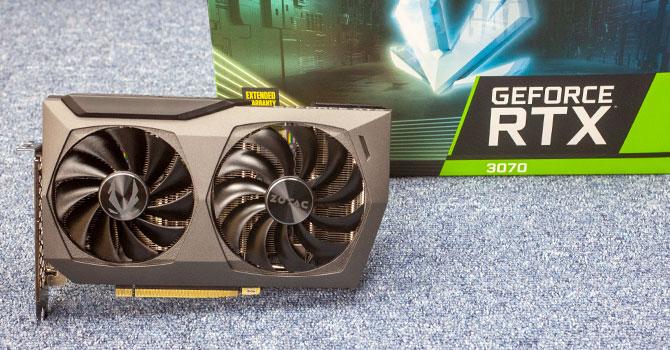Zotac GeForce RTX 3070 Twin Edge OC Review